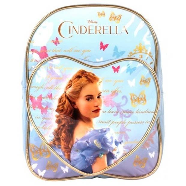 Disney rugtas Cinderella lichtblauw 9,6 liter