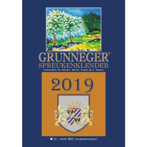 Grunneger Spreukenklender 2019