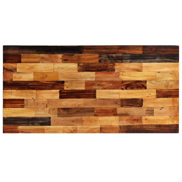 vidaXL Bartafel 120x60x106 cm massief gerecycled hout