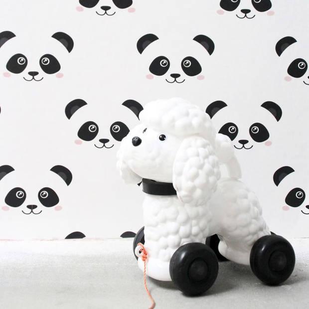 Fabulous World Behang Panda wit 67100