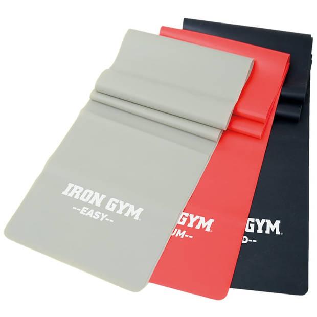 Iron Gym Trainingsbandenset 3-delig IRG042