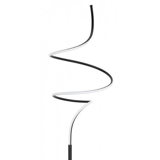 Highlight Vloerlamp Curle zwart