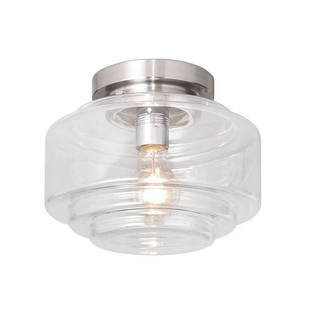 Highlight Plafondlamp Deco Cambridge Ø 24 cm helder