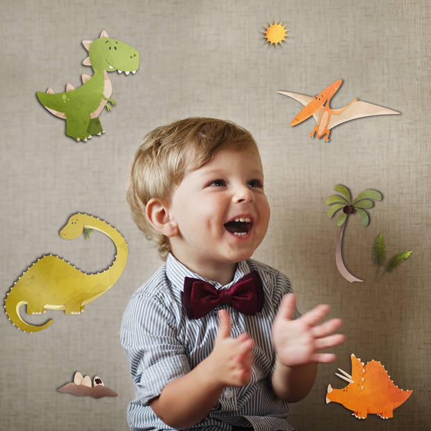 Kids Decor muurdecoratie 3-levels Dinosaurs junior