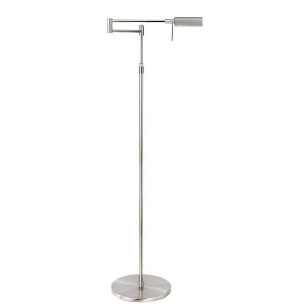 Highlight Vloerlamp New Bari mat chroom
