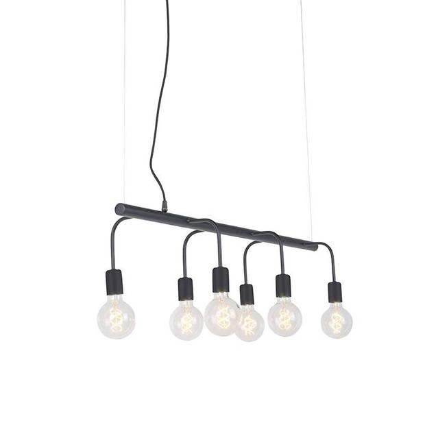 Qazqa Hanglamp Facile 6 lichts