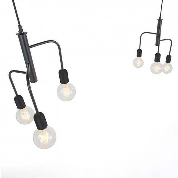 Qazqa Hanglamp Facile 2x 3 lichts