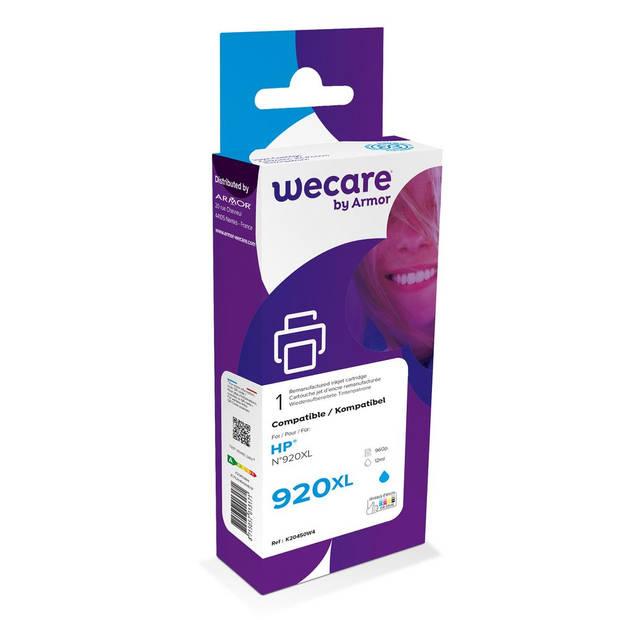 weCare Cartridge compatible met HP 920 XL Blauw