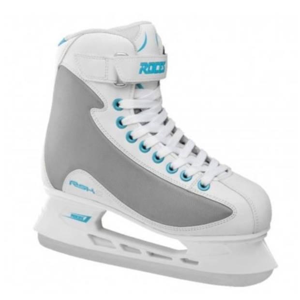 Roces ijshockeyschaatsen RSK 2 wit/grijs