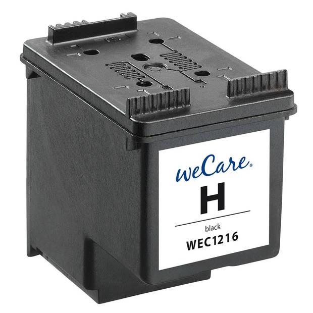weCare Cartridge compatible met HP 300 XL Zwart