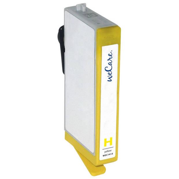 weCare Cartridge compatible met HP 920 XL Geel