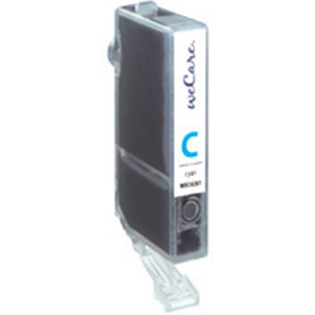 weCare Cartridge Canon CLI-526 Blauw