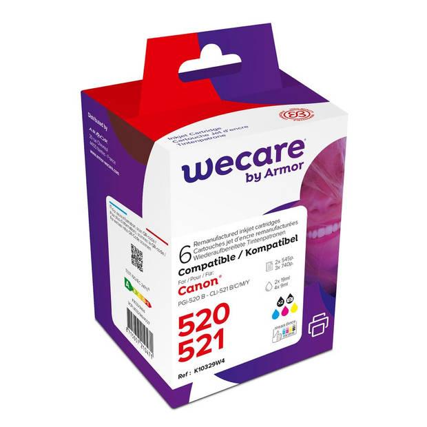 weCare Cartridge Canon PGI-520/CLI-521 Multipack