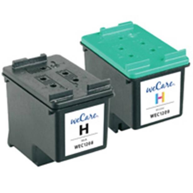 weCare Cartridge compatible met HP 350 XL/HP 351 XL Combipack