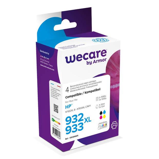 weCare Cartridge compatible met HP 932 XL/933 XL Combipack