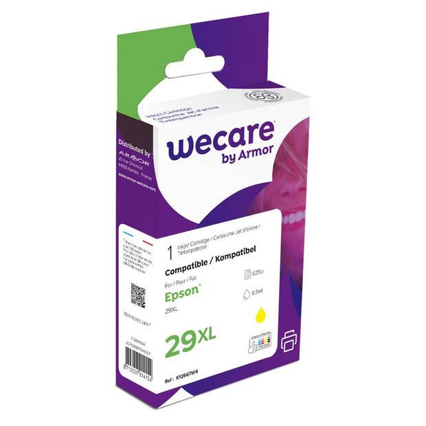 weCare Cartridge Epson T299440 XL Geel