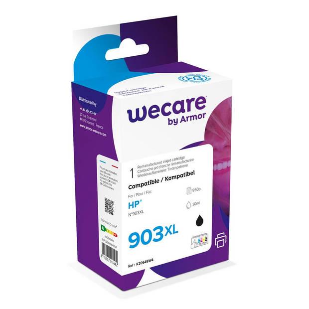 weCare Cartridge compatible met HP 903 XL Black