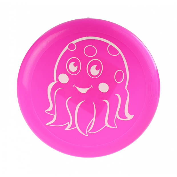 Free and Easy frisbee 22 cm roze
