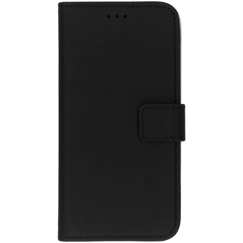 Zwarte Premium Wallet TPU Case voor de LG K8 (2017)