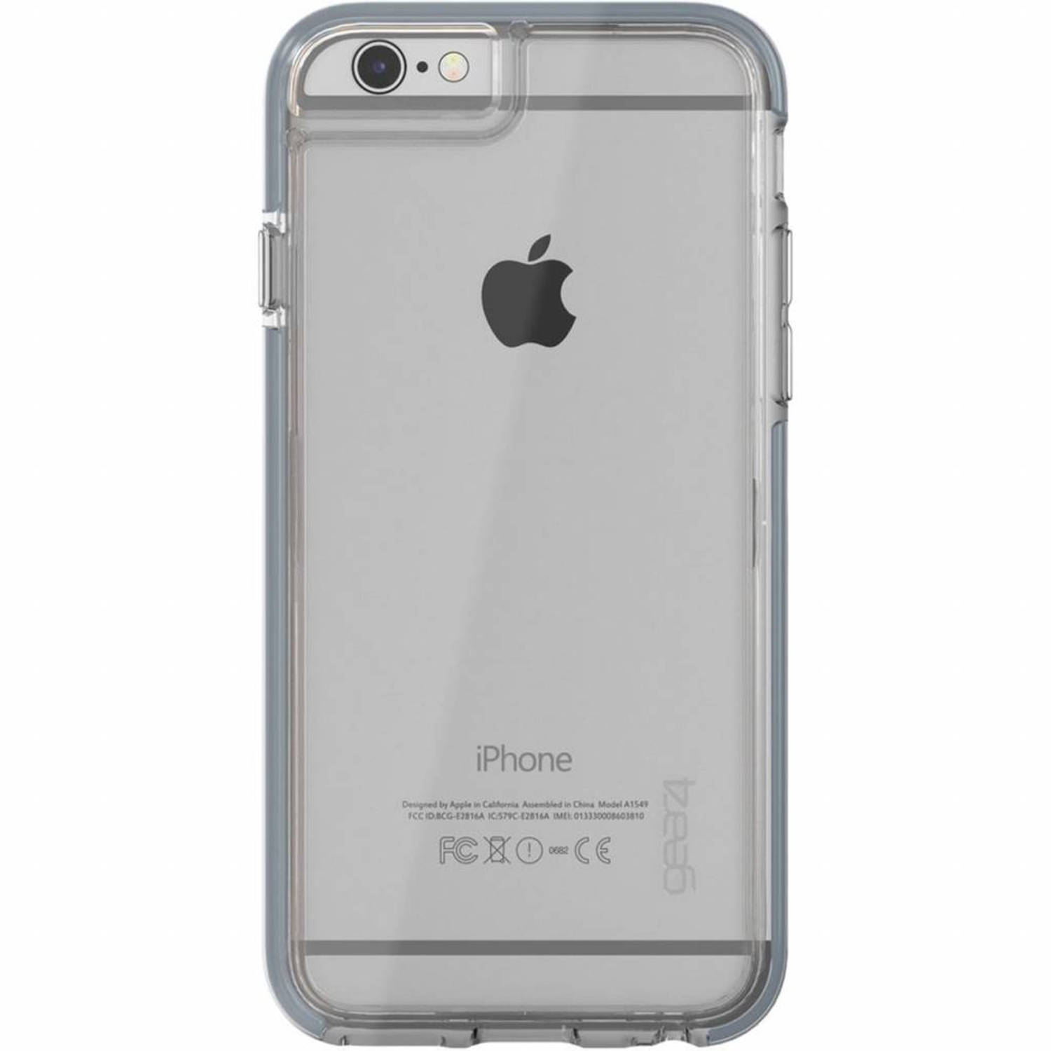 Grijze D3O® Piccadilly Case voor de iPhone 6(s) Plus