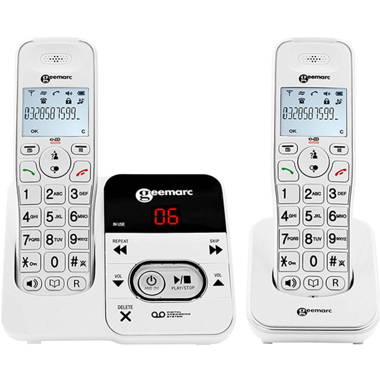 Geemarc DUO DECT telefoon met antwoordapparaat