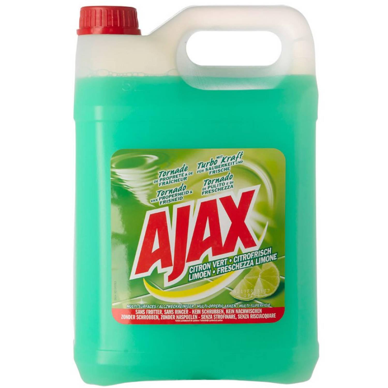 Afbeelding van Ajax Allesreiniger Limoen Fris - 5 Liter