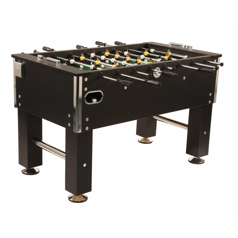 Afbeelding van Bandito voetbaltafel Profi Soccer Deluxe 140x75x88 cm zwart