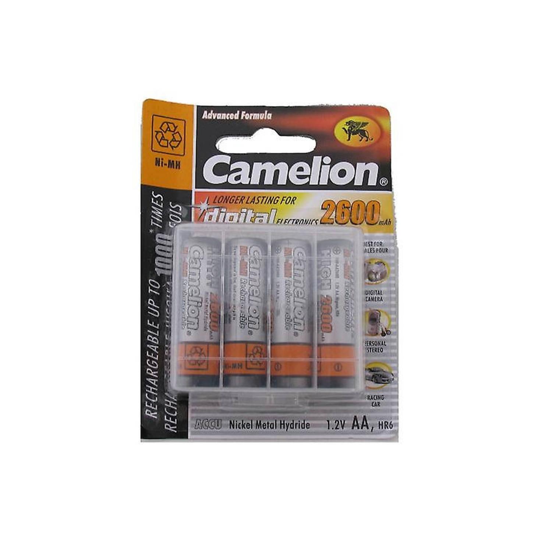 Camelion batterijen AA oplaadbaar 4 stuks