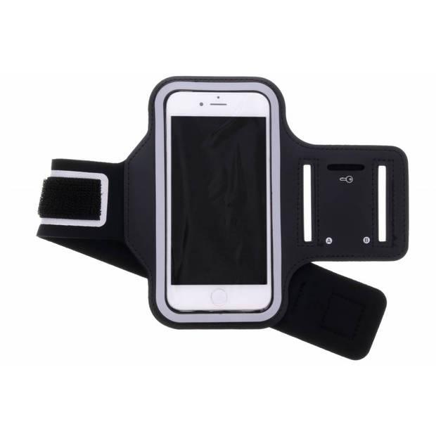 Zwarte sportarmband voor de iPhone SE (2020) / 8 / 7 / 6(s)