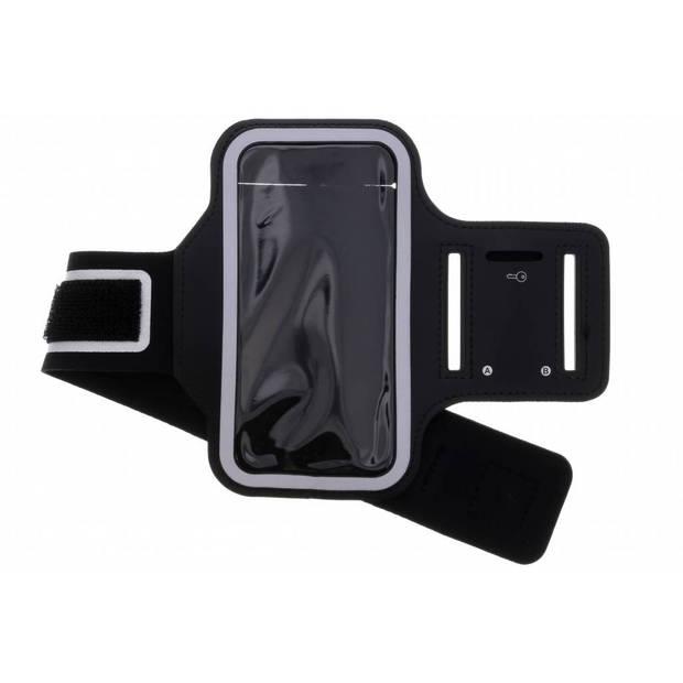 Zwarte sportarmband voor de Samsung Galaxy S9