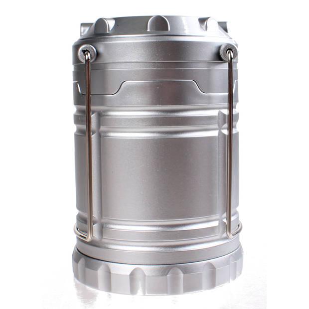Redcliffs campinglamp 18,5 cm zilver