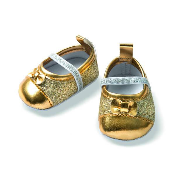 Heless glitterballerina's voor een pop van 38-45 cm goud