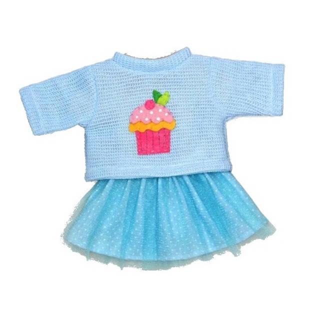 Heless poppenkleren voor een pop van 28-35 cm blauw