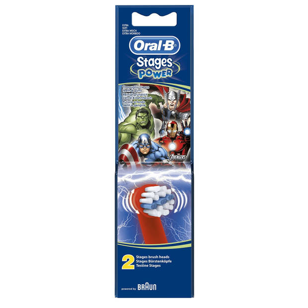 Oral B Opzetborstels - Stages Power 2st