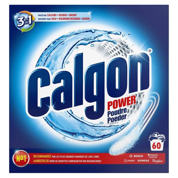Calgon 3 in 1 Tabs Ontkalkingspoeder voor Wasmachines - 60 wasbeurten