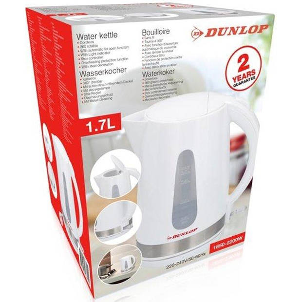 Dunlop Waterkoker - 1,7L - 2200 Watt