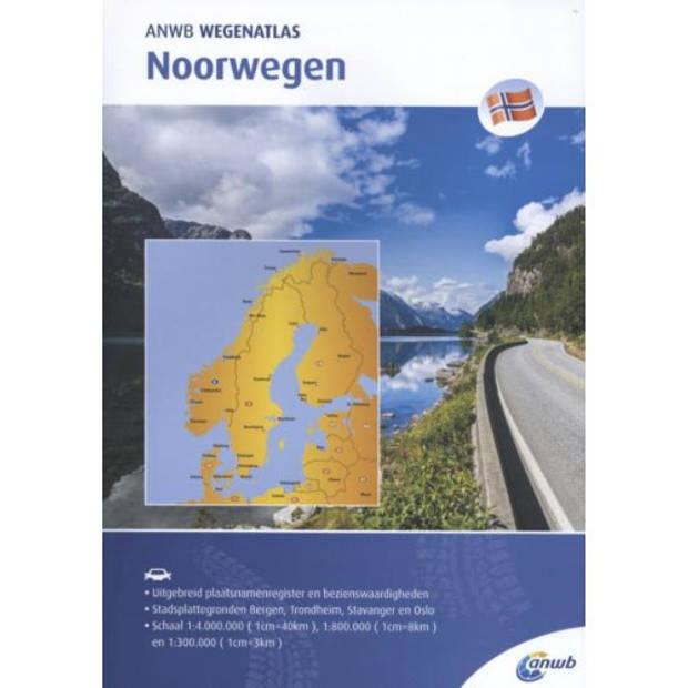 Noorwegen - Anwb Wegenatlas