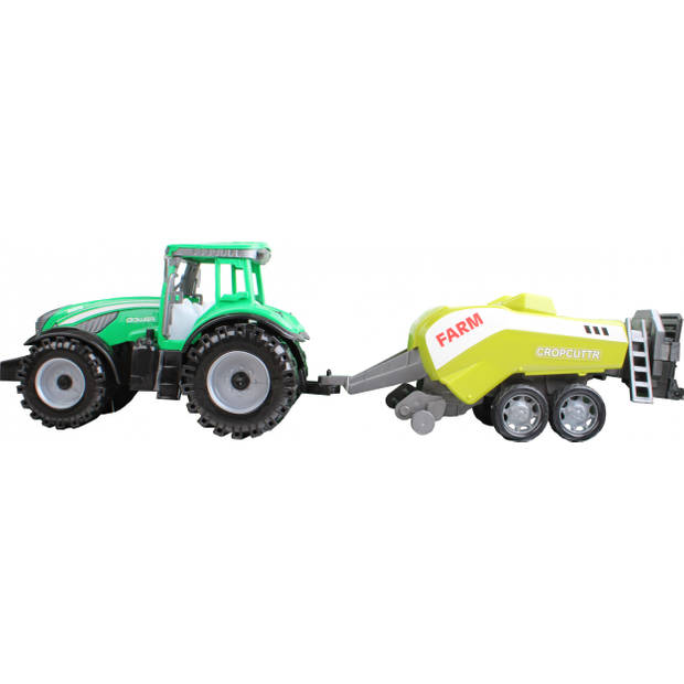 Free and Easy tractor Cropcuttr 44 cm groen