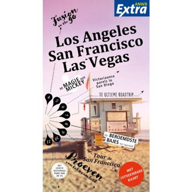 Los Angeles, San Francisco, Las Vegas - Anwb Extra