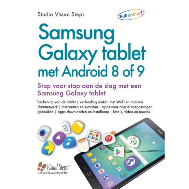 Samsung Galaxy Tablet Met Android 8