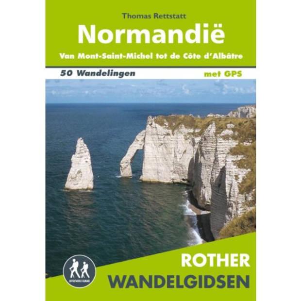 Normandië - Rother Wandelgidsen