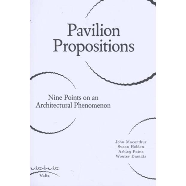 Pavilion Propositions - Vis-à-vis