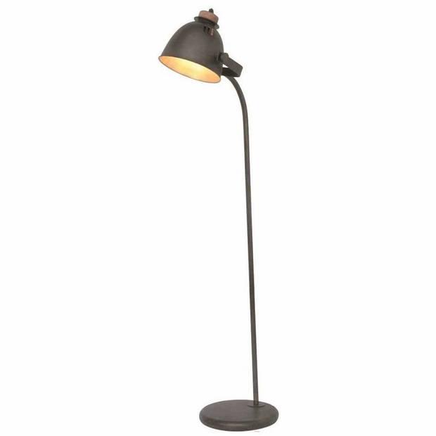 Freelight Vloerlamp Oldie zwart-hout