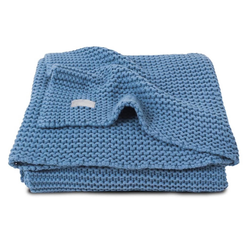 Jollein Deken Heavy Knit 75×100 cm blue 516-511-65087