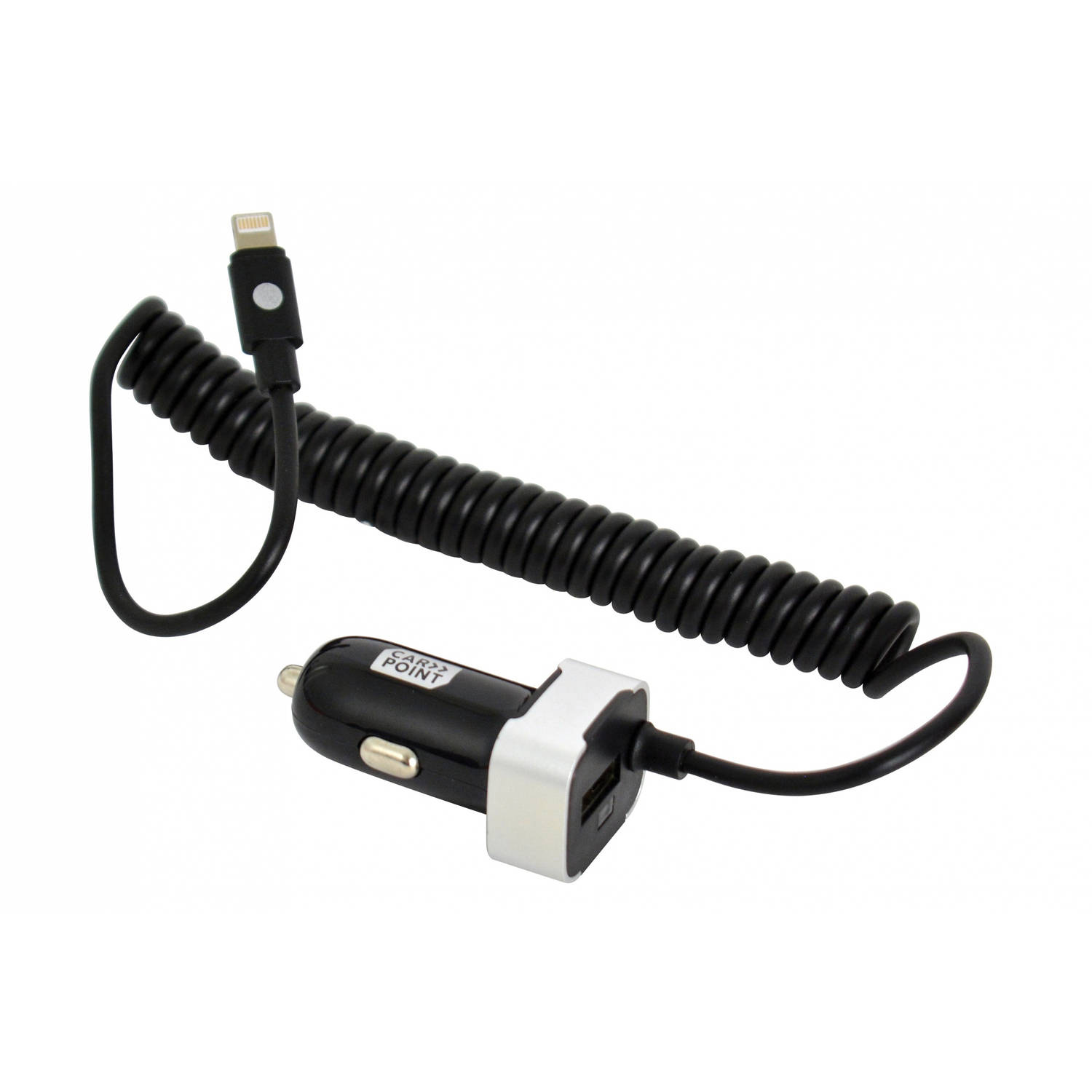 Carpoint Autolader 12V / 24V single USB 2.4A