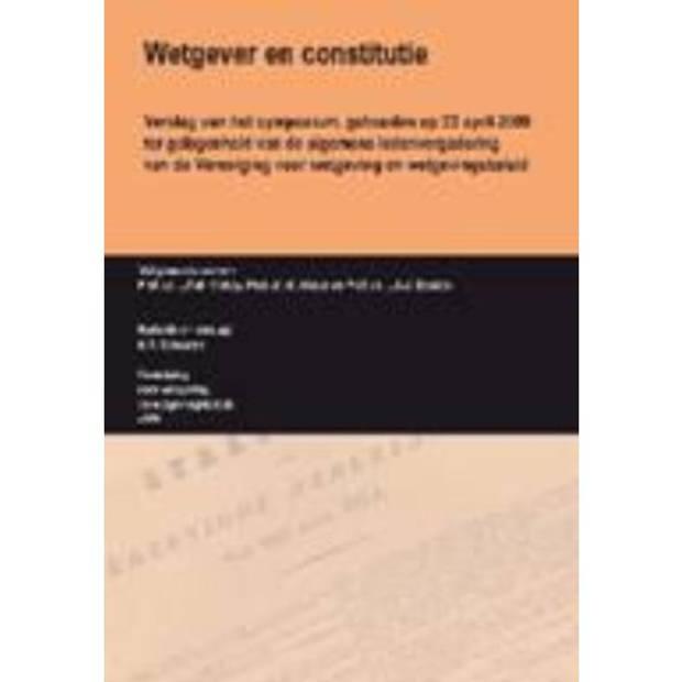 Wetgever En Constitutie