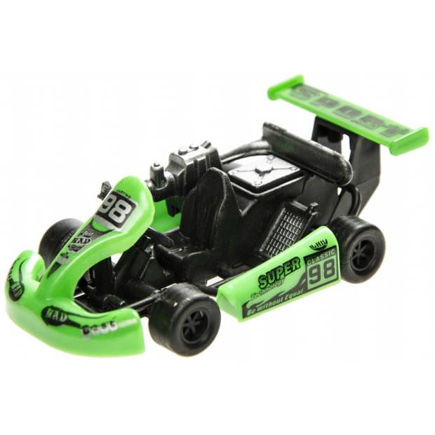 LG-Imports raceauto groen 9 cm