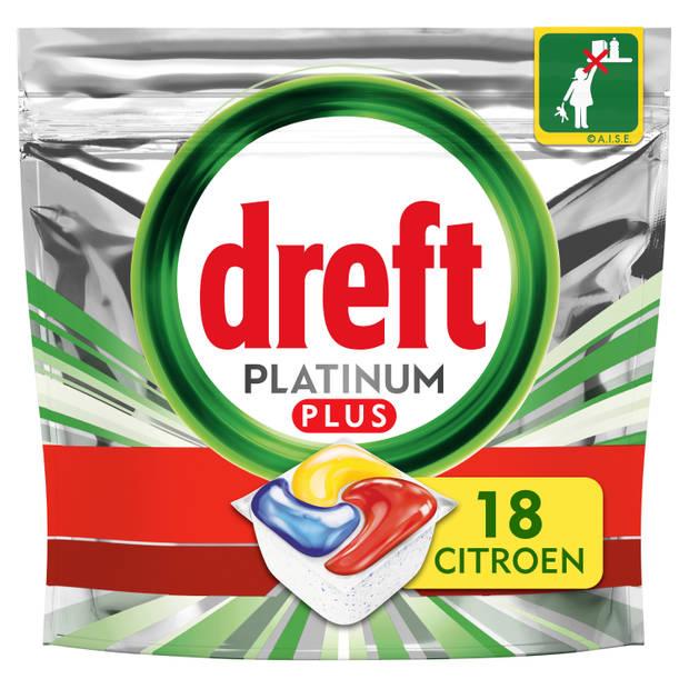 Dreft Platinum Plus Vaatwastabletten - 90 stuks
