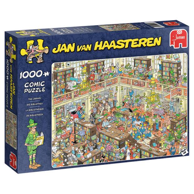 Jan van Haasteren puzzel de bibliotheek - 1000 stukjes