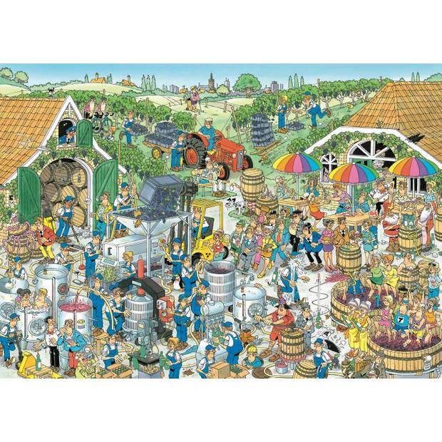 Jan van Haasteren puzzel de wijnmakerij - 1000 Stukjes